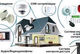 Монтаж видеонаблюдения и охранных систем