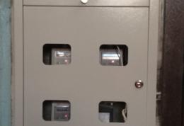 Замена этажных щитов в Многоквартирном Жилом Доме